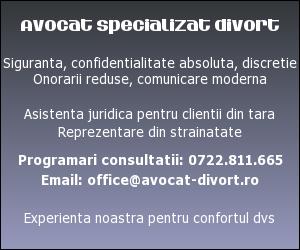 Avocat divort. Divort in Romania, consultatii divort Bucuresti