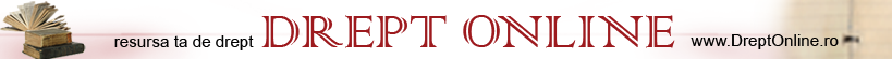 DreptOnline.ro, portal juridic, stiri, legislatie, raspunsuri juridice