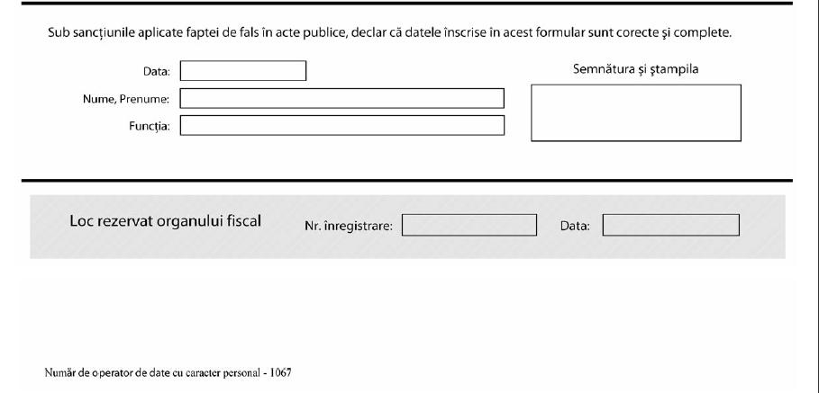 150: Cerere pentru utilizarea unui certificat digital calificat - partea 2